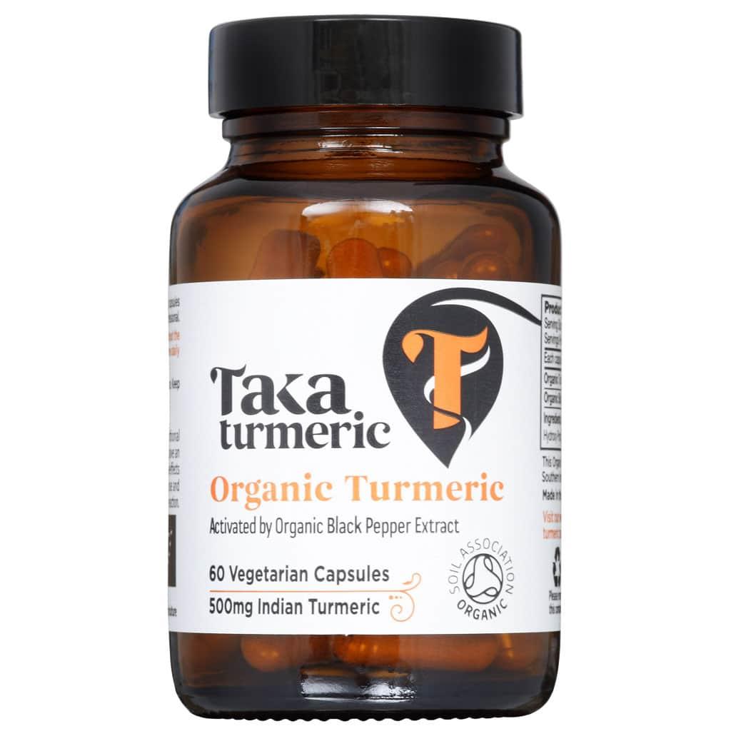 Kurkuma capsules Taka Turmeric
