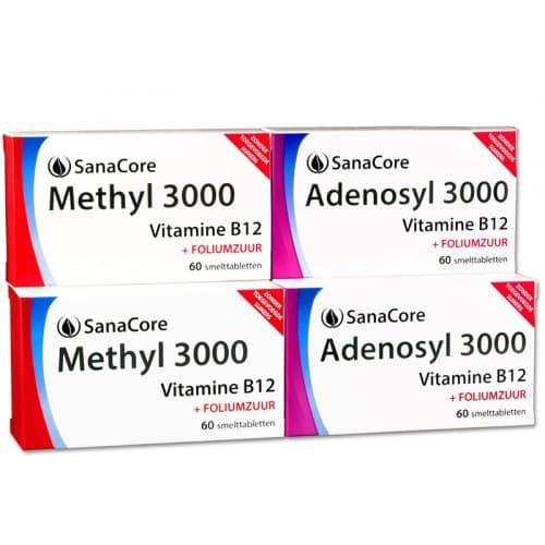 Vitamine B12 & foliumzuur Adenosyl 3000