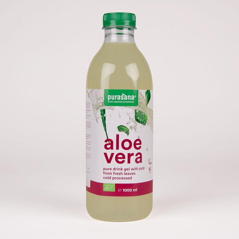 purasana aloe vera drink gel bio