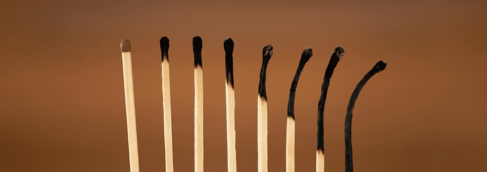 sypmtomen van een burnout en herstelplan