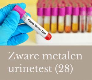 zware metalen urine test